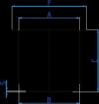 Abgiessschalen für Perl-X-Aufschlussgeräte