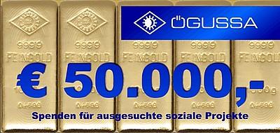 50000 EUR Spendensumme