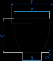 Tiegel für Claisse-Fluxer