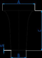 Tiegel für Linn-Aufschlussgerät