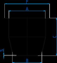 Tiegel für Perl-X-Aufschlussgeräte