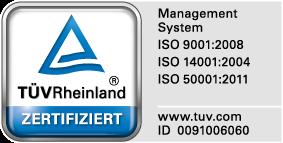 TÜV-Zertifikat der Ögussa