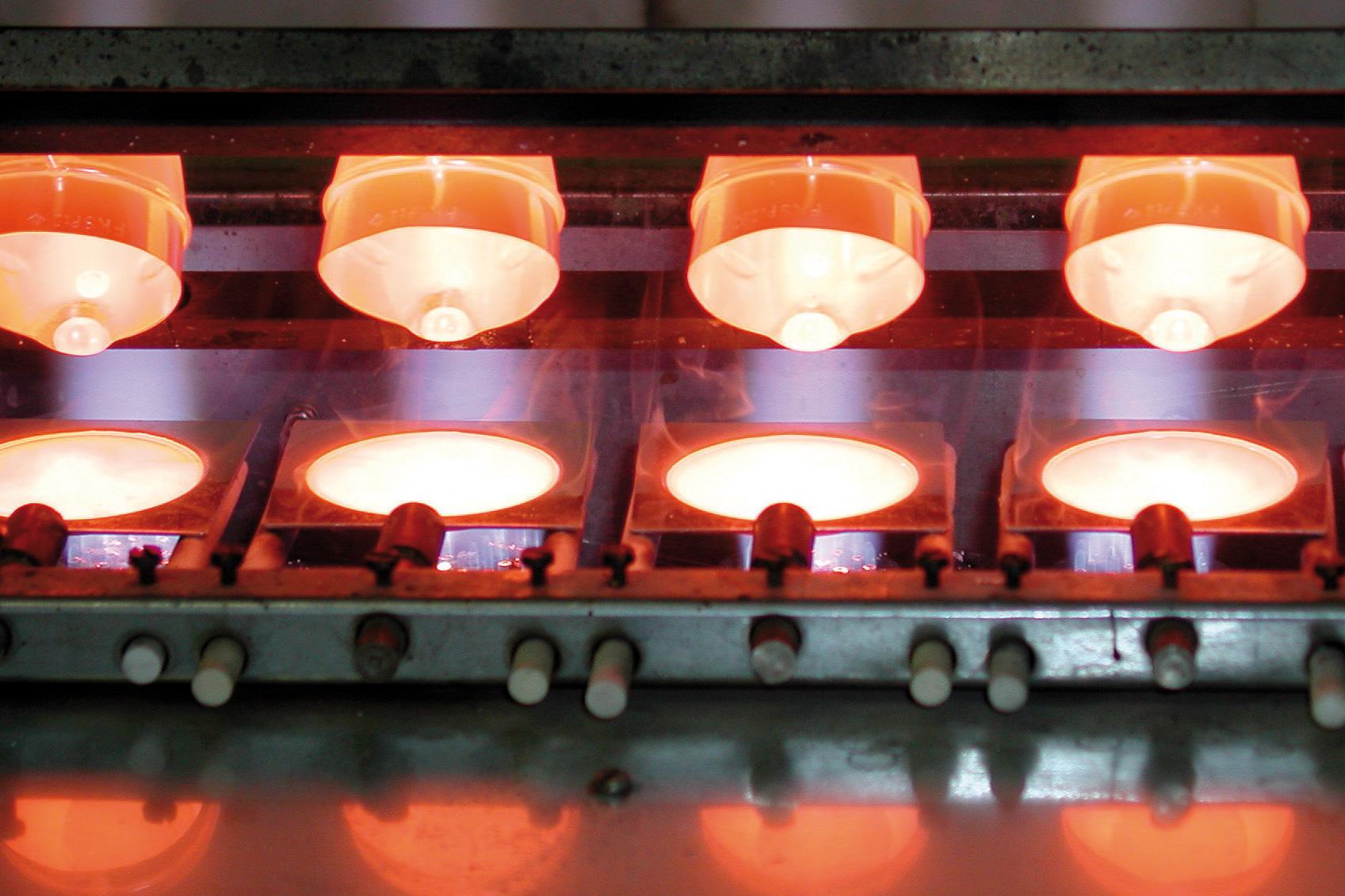 Platingeräte im Aufschmelzautomat