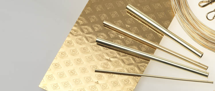 tubes and stamped Ögussa fine gold sheet
