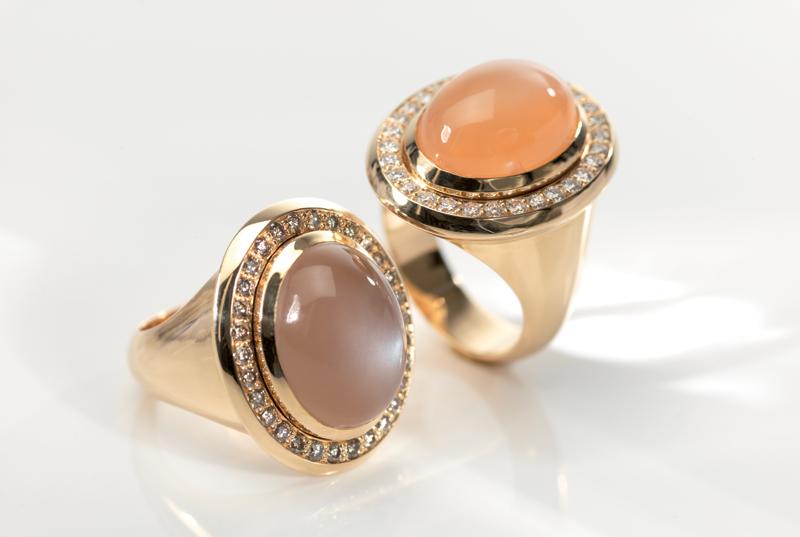 Jewellery Metals rings