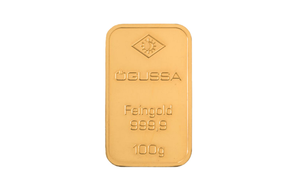ÖGUSSA Feingold Barren 100 Gramm