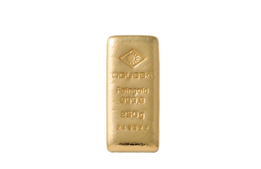 ÖGUSSA Feingold Barren 250 Gramm