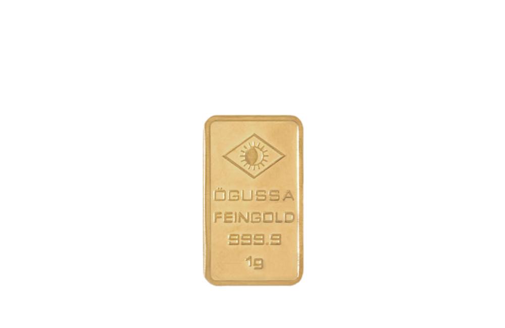 ÖGUSSA Feingold Barren 1 Gramm