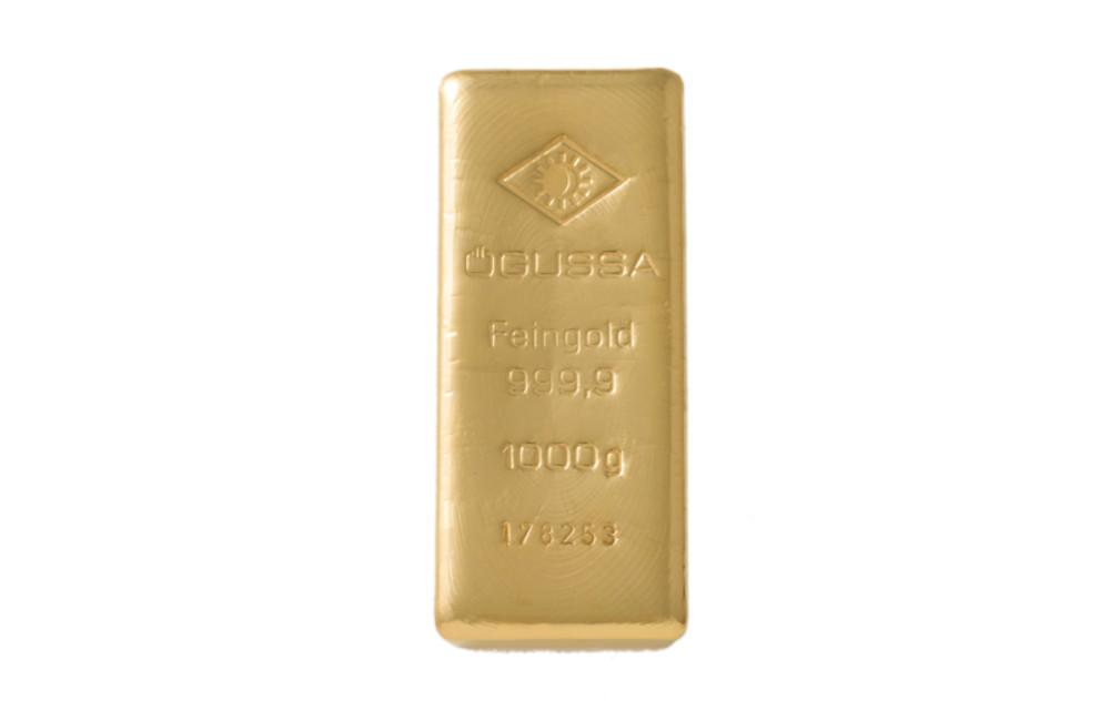 ÖGUSSA Feingold Barren 1.000 Gramm