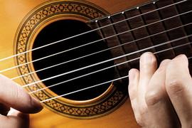 Musikinstrumentensaiten aus Silber