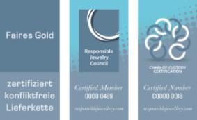 RJC Zertifizierungen der Ögussa