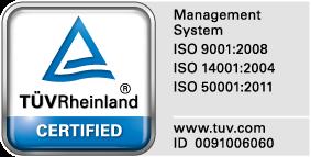 TÜV-Certifikate from Ögussa